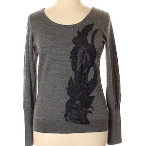 Anthropologie Angel of the North Wool Pullover XS